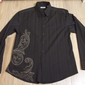 7 Diamonds Men's  XXL Western Style Long Sleeve